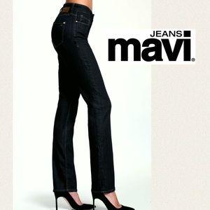 NWT Mavi Jeans Molly Straight in Black Kensington